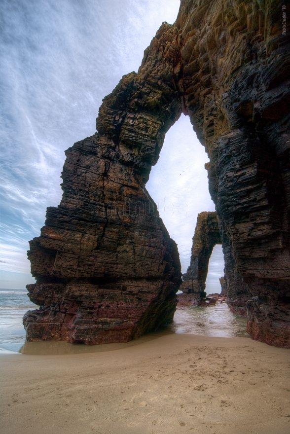 playa de las catedrales los viajeros
