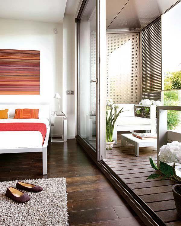 Porches Y Terrazas Dentro O Fuera Dormitorios Cerramientos Terrazas Decoracion De Apartamentos