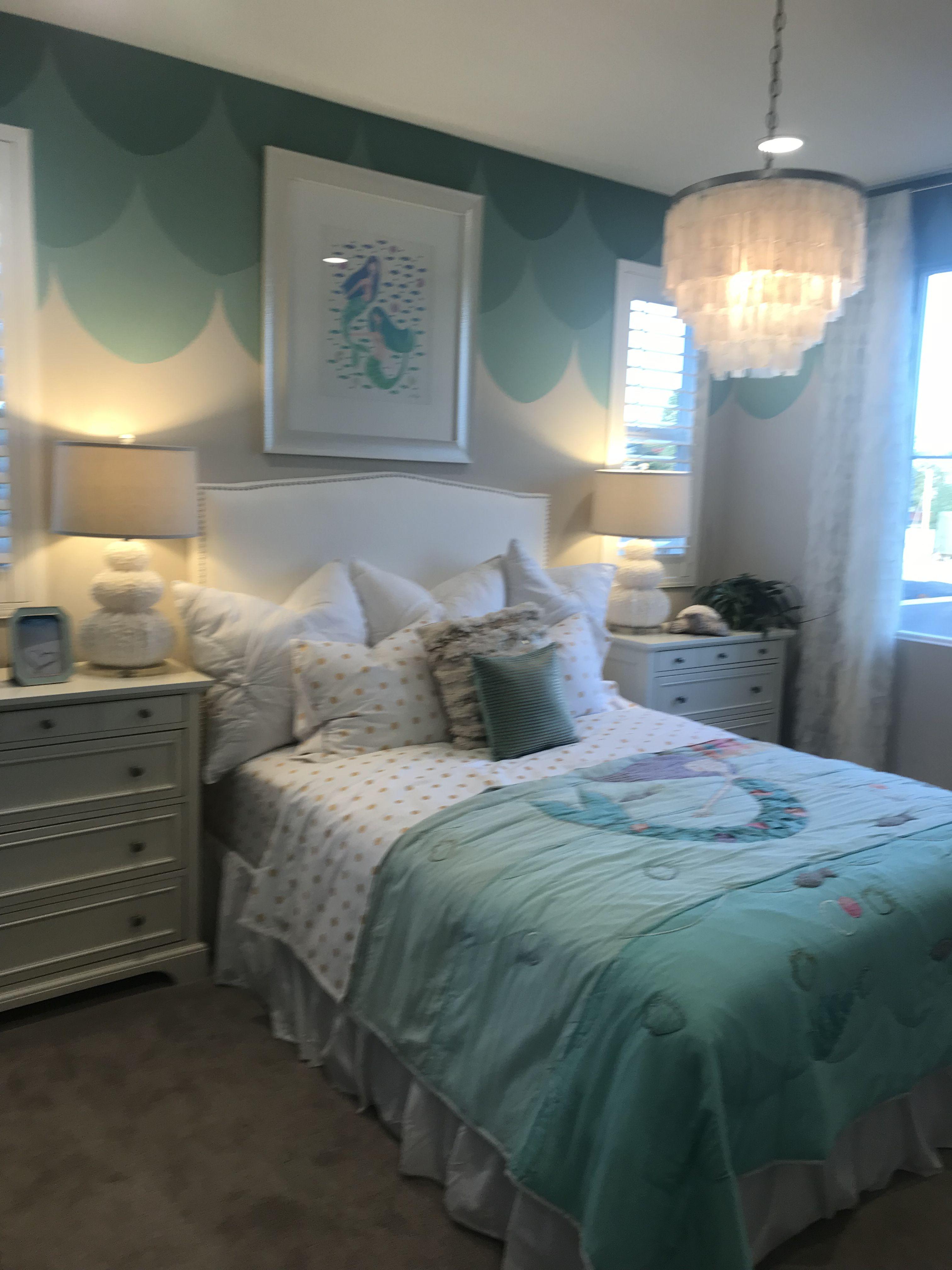 Mermaid Inspired Room Mermaid Room Decor Mermaid Bedroom Bedroom Decor