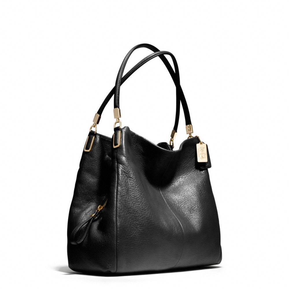 ... reduced coach madison small phoebe shoulder bag in leather 62c15 a96d1  ... 9eddda0fa9