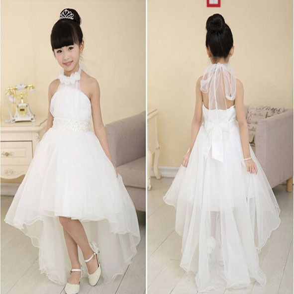 168a84d12 Niña de las flores vestidos para bodas tutu C128 niñas vestidos del desfile  2015 vestido de primera comunión de la muchacha del vestido para la boda(China  ...