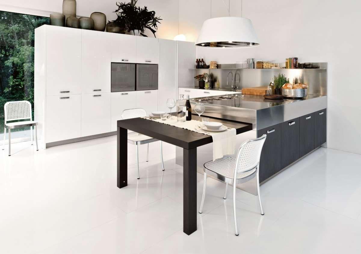 Beautiful Cucina Con Tavolo Estraibile Ideas - Ideas & Design 2017 ...