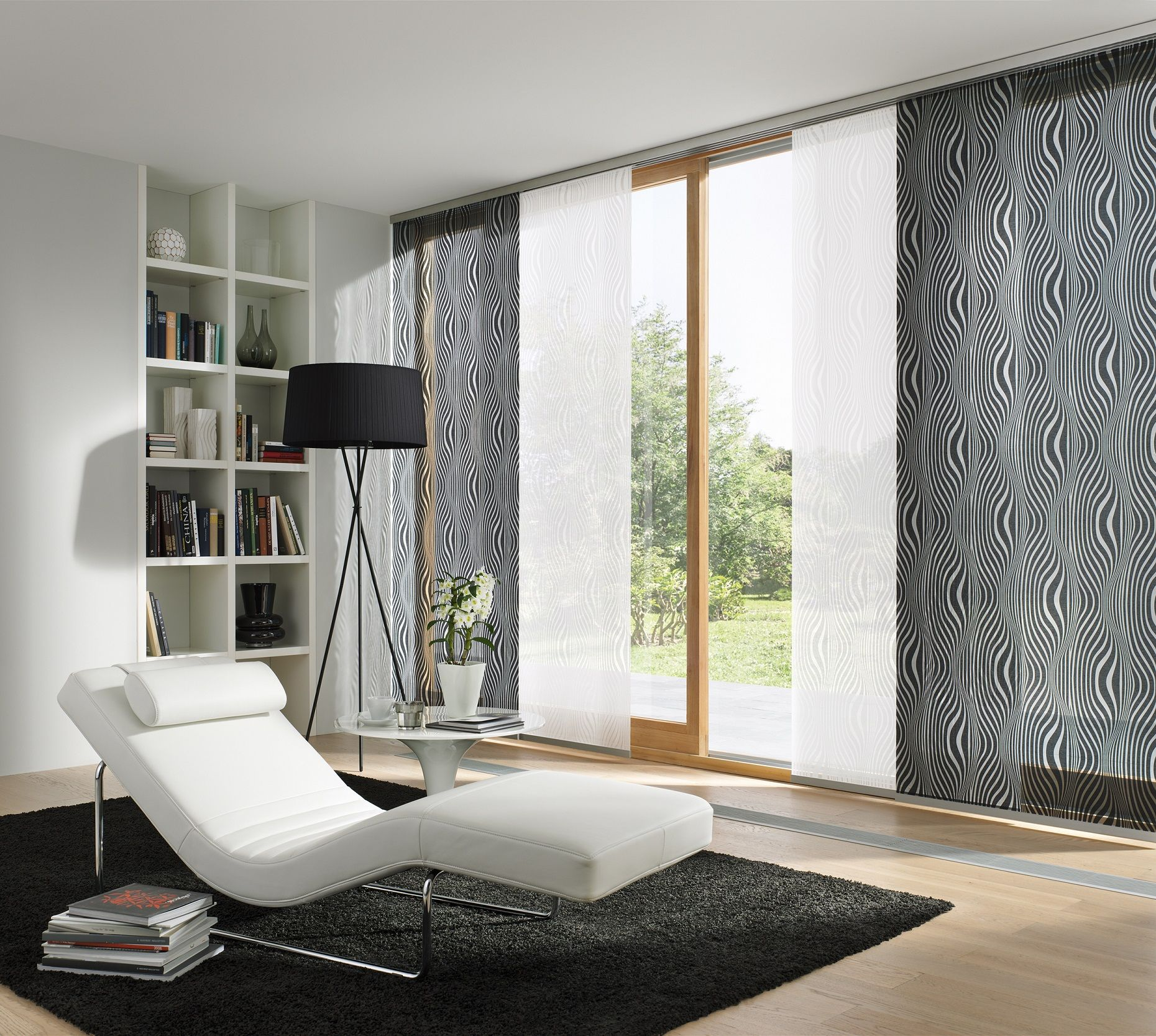 fl chenvorhang leha wohnzimmer pinned by vorhang wohnzimmer. Black Bedroom Furniture Sets. Home Design Ideas