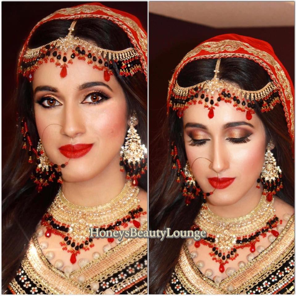 Bridal makeup for long face  Bridal makeup, Long faces, Makeup looks