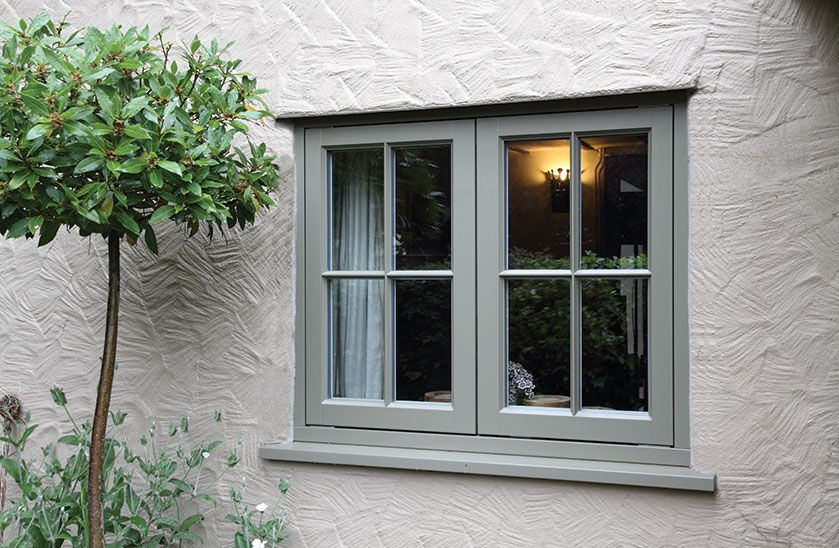 how to build wood window casment