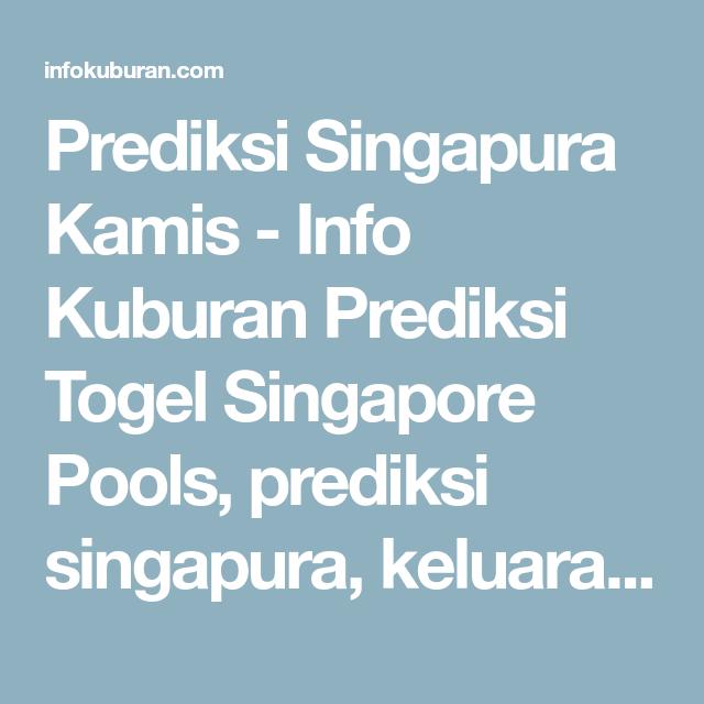 32 Togel singapore 2020 hari ini keluar prediksi hari ini singapura terbaru