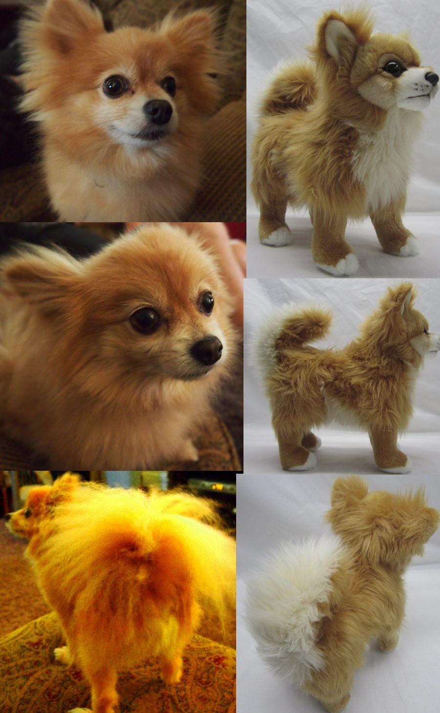 Custom stuffed animals made to look like your dog. We call