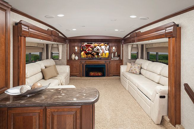 Forestrivercardinal_3800Fl_Btof  Rv  Pinterest  Rv Alluring Fifth Wheel Campers With Front Living Rooms Design Inspiration