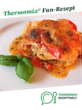 Photo of Tomato and pepper gratin with turkey breast