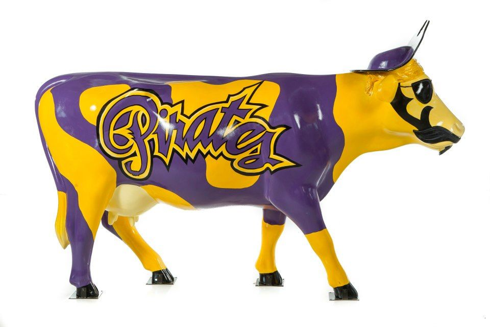 promo code 9bea8 8e2bb North Carolina Pirates Cow