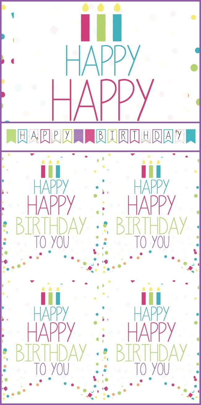 birthday signs and banners for boys and girls scrapbooking