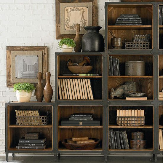 This Book Case Looks Like A You Would Find While Traveling To Some Rustic Country