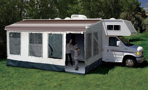 Carefree 211400a Rv Awning Size 14 15 Buena Vista Plus Room In 2020 Diy Travel Trailer Awning Canopy Camper Makeover