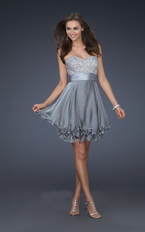 Short Simple Formal Dresses Photo Album - Reikian