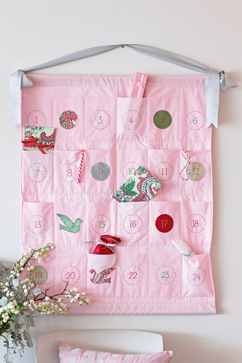 How to stitch up pastel pouches for a stylish Advent calendar Fill