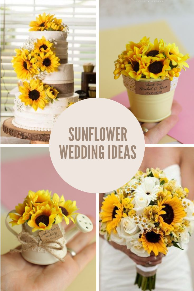This elegant and unique favor is great for Sunflower theme