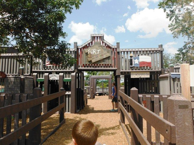 Playgrounds And Picnics Fort Imagination In Abilene Texas Abilene Zoo Abilene Abilene Texas