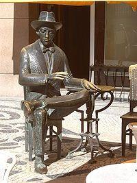 Fernando Pessoa, Lisboa.