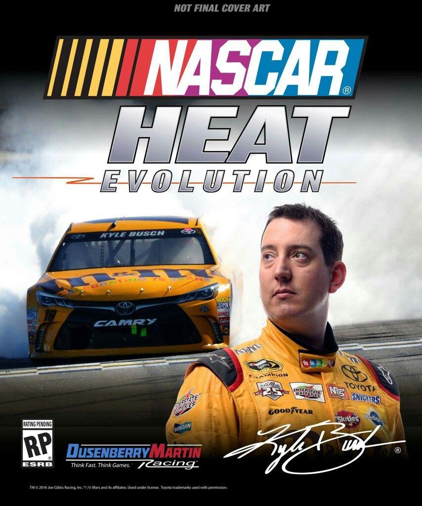 Kyle Busch Cover Art Nascar heat, Xbox one games, Nascar
