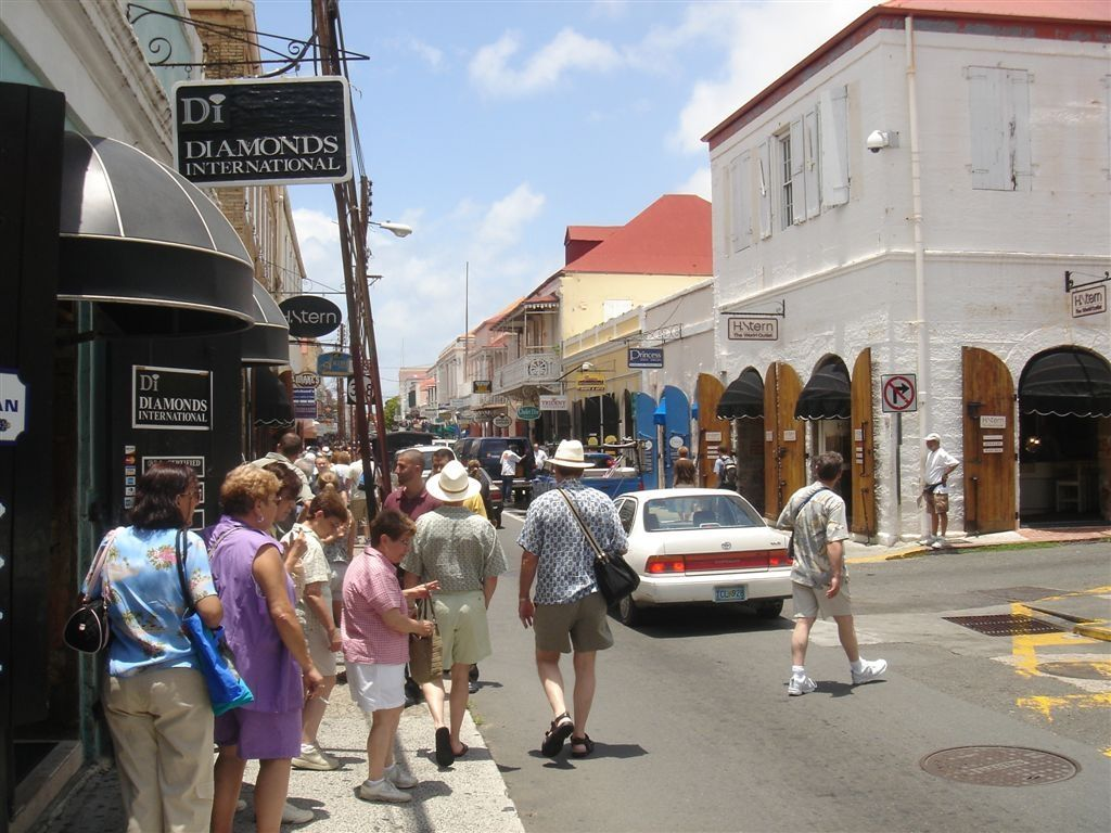 Shopping On St Thomas Virgin Islands Downtown