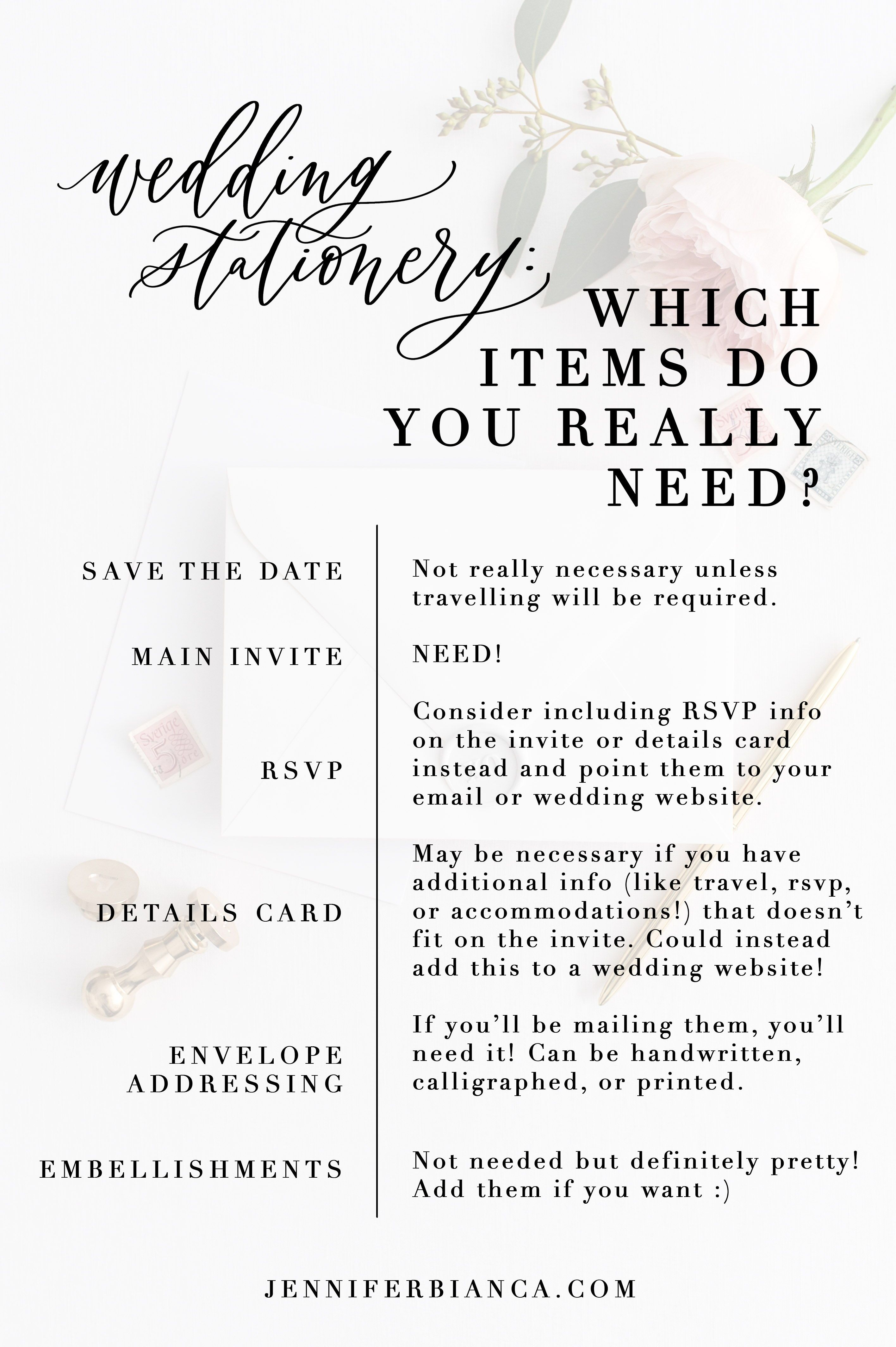 Wedding Stationery What Items Do You Really Need Wedding Stationery Wedding Website Do You Really