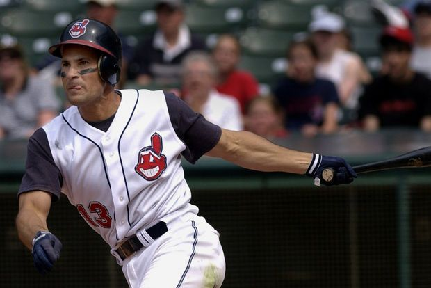 Omar Vizquel, Cleveland Indians 2014 Hall of Fame inductee