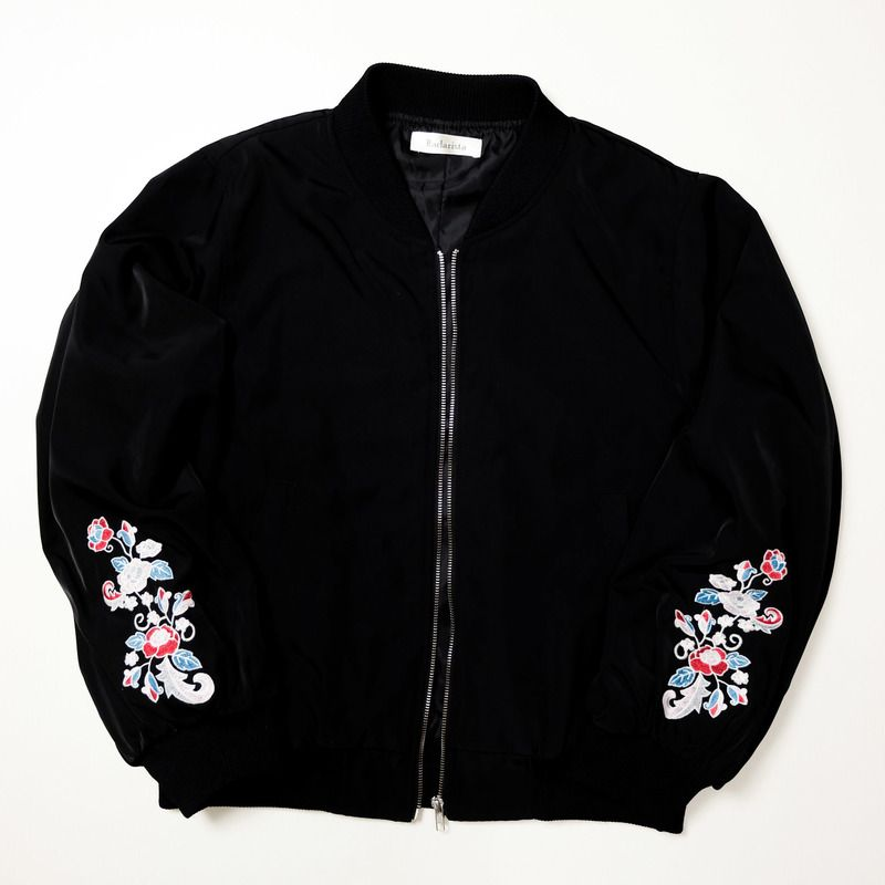 Kawaii Chic Cute Vintage Hoshihime Kawaii Pastel Japanese Japan Yokosuka Embroidery Embroidered Bomber Sukajan Souvenir Jacket Tour Jacket