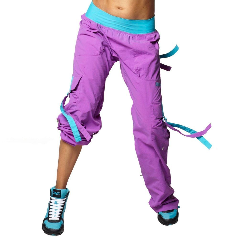 Zumba studio pants Baby blue zumba work out pants. Tons of life left in  these! zumba Pants Track Pants \u0026 Joggers