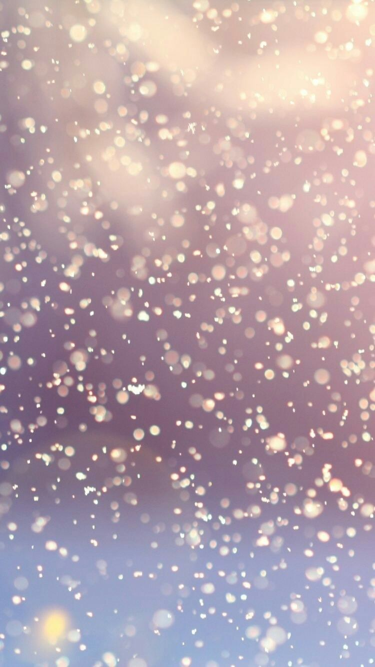 Merry Christmas Snowing IPhone Wallpapers Bokeh Tap To See More Beautiful