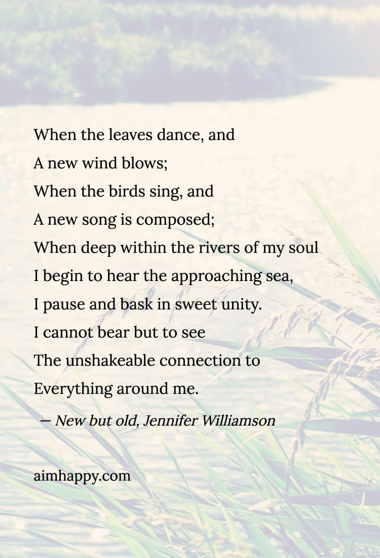 poem on nature short