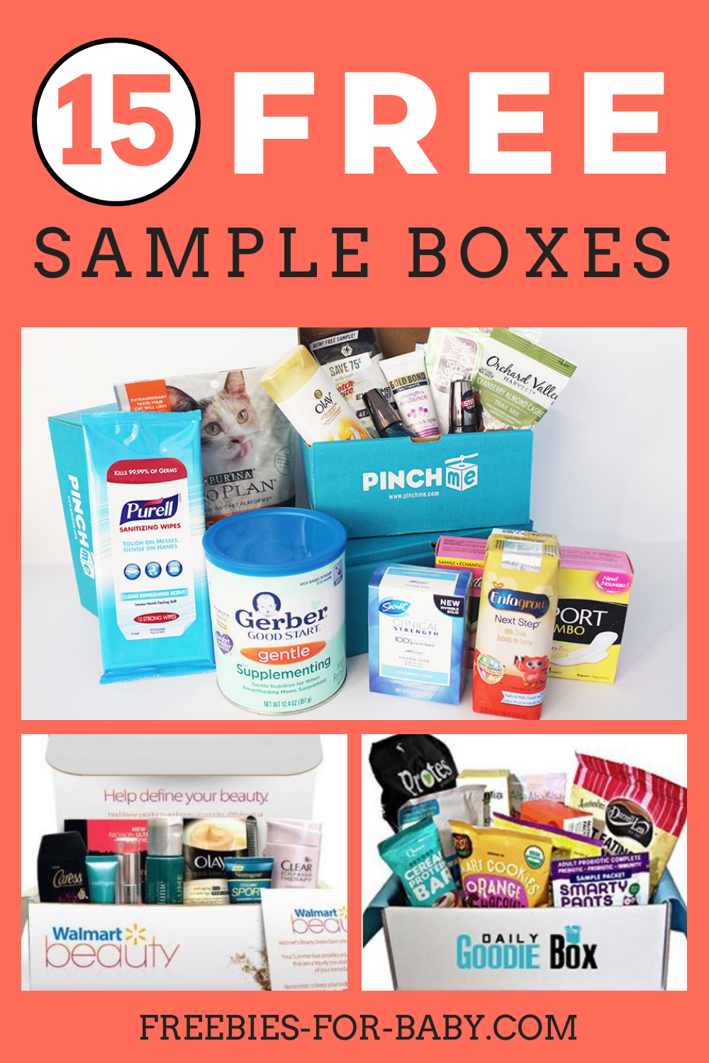 15 Free Sample Boxes Legit Free Stuff For Moms In 2020 Free Sample Boxes Free Stuff By Mail Sample Box