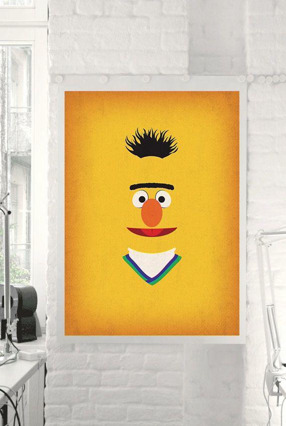 Awesome Muppet and Sesame Street Poster   Art   Pinterest   Sesame ...
