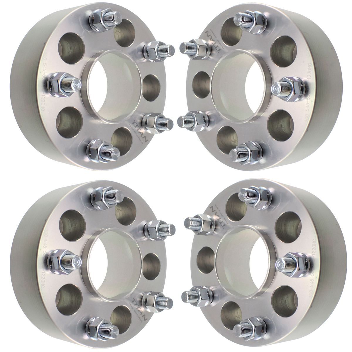 """4pc 2.0"""" Jeep Hubcentric Wheel Spacers 5x5 for Grand"""