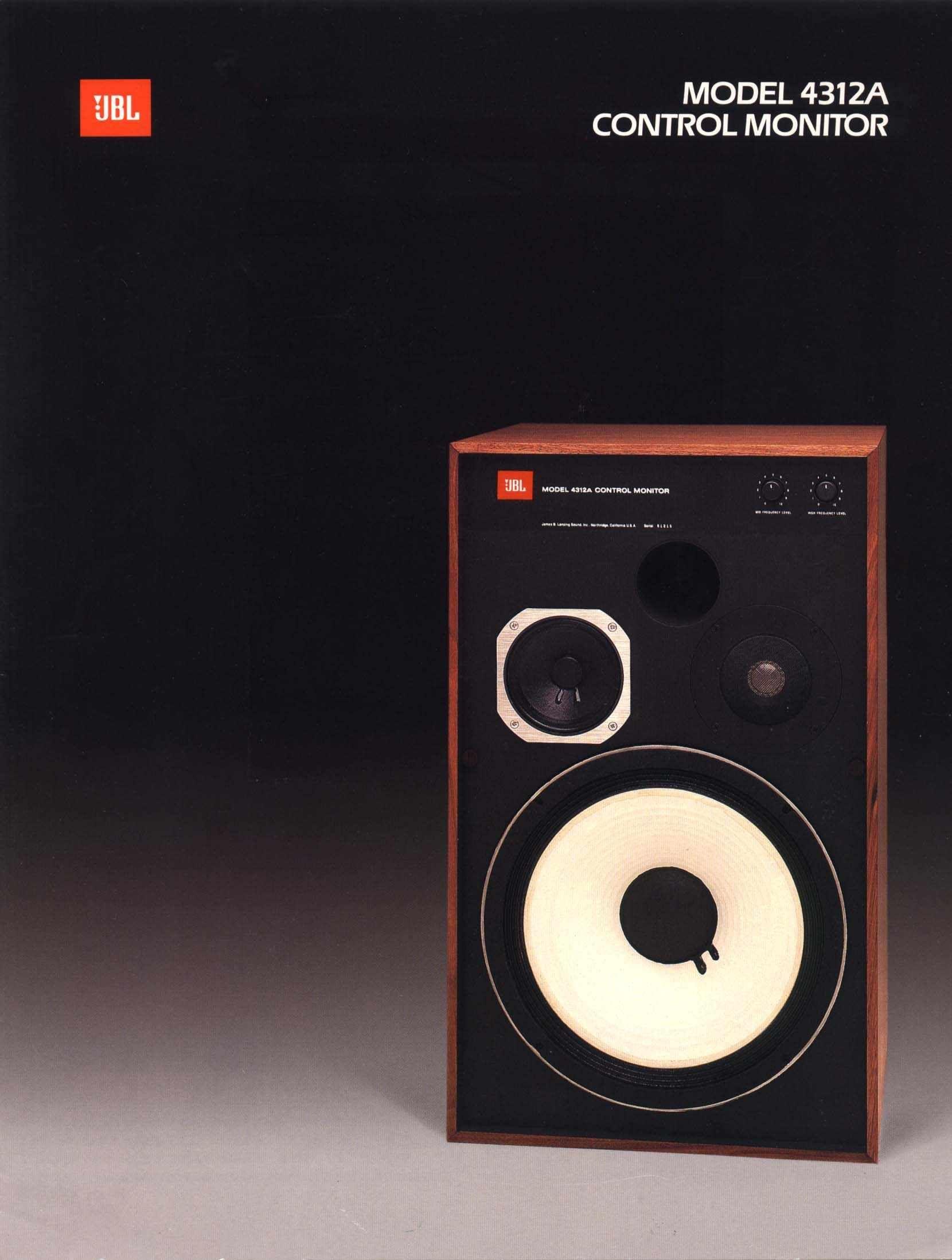 Jbl 4312a Jbl Vintage Speakers Hifi