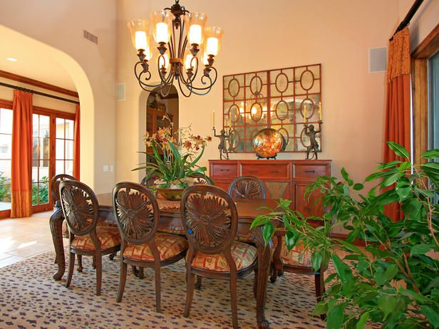 Tropical Dining Room Rugs