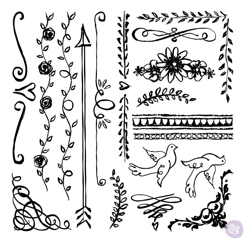 Expressions Home Decor: Iron Orchid Design Decor Stamps For Home