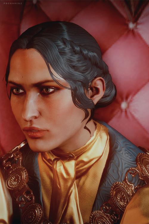 Dragon Age Inquisition - Josephine (can i just say... BlackwallxJosie... i ship it so hard)