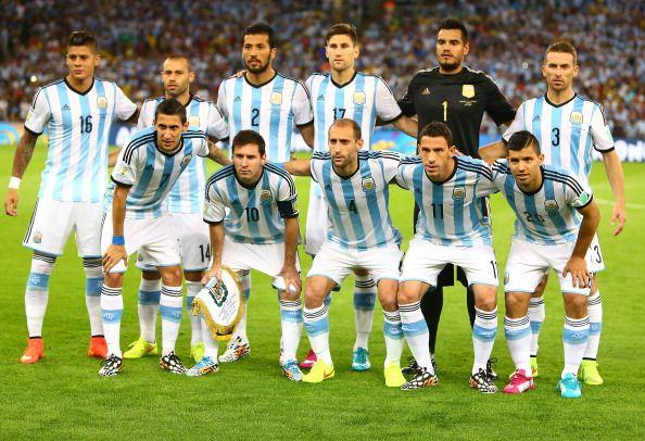 El equipo de fútbol de Argentina.