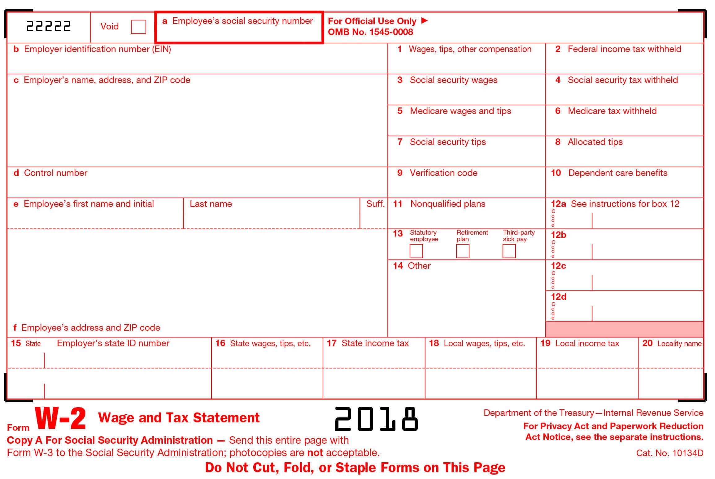 w2 form deductions  What Every Employer Should Know about the Form W17? | Income ...