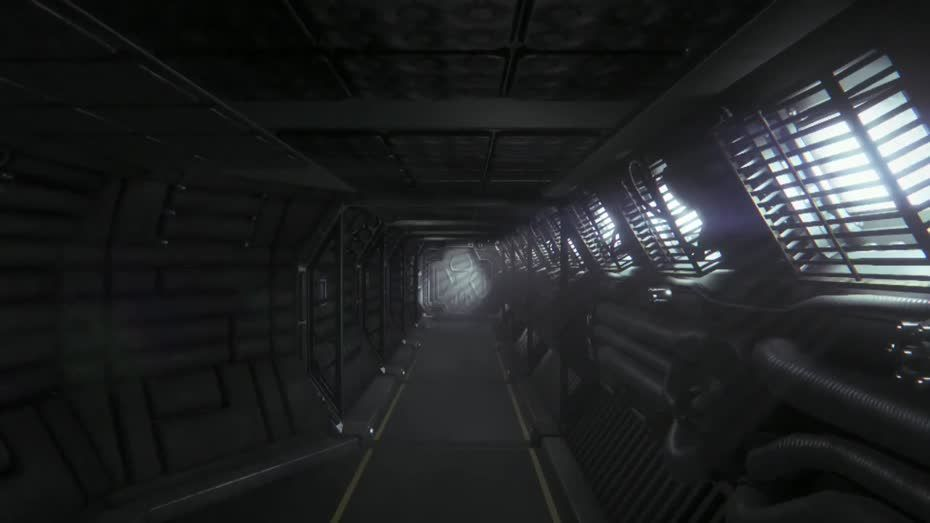 Moon Base Inside Alien Isolation Starship Design Spaceship Interior
