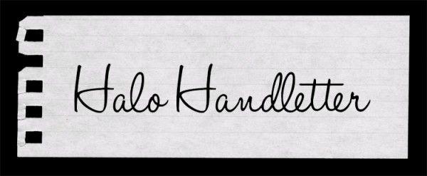 Halo Handletter
