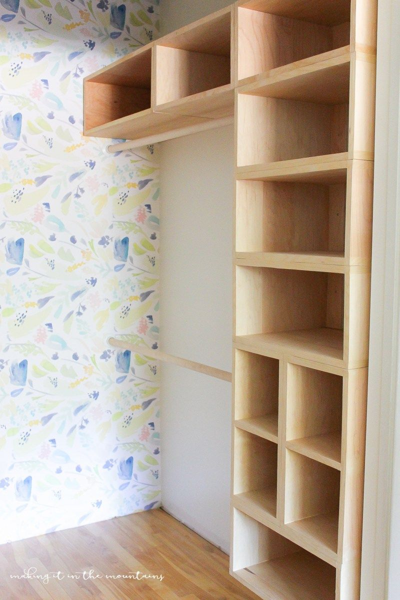Diy custom closet organizer the brilliant box system - Organizadores de armario ...