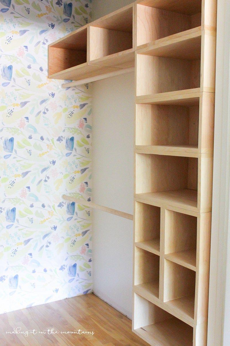 Diy custom closet organizer the brilliant box system - Organizadores de armarios ...