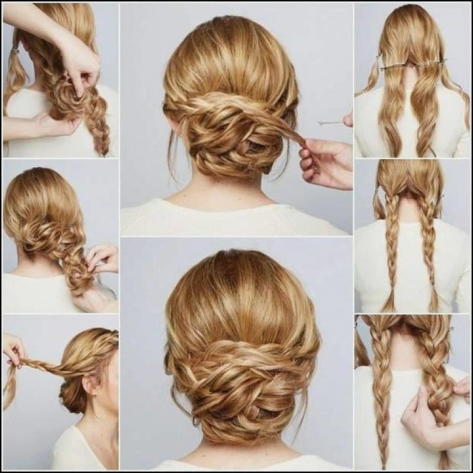 Amazing Frisuren Frisur Hochzeit Lange Haare Selber Machen Die