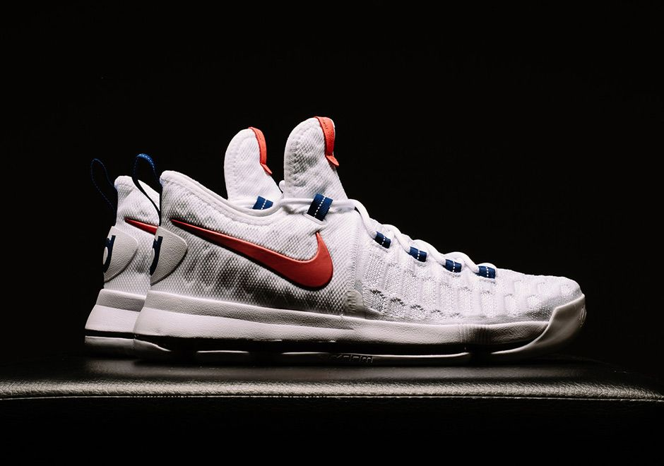buy popular 82bd3 15413 ... Celebrate The Olympics With The Nike KD 9 Premiere Kevin durant shoes,  Durant shoes and ...