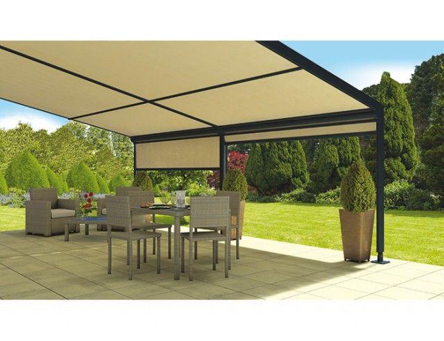 installer un store fixe de terrasse terraclim offre la possibilit de cr er un espace. Black Bedroom Furniture Sets. Home Design Ideas