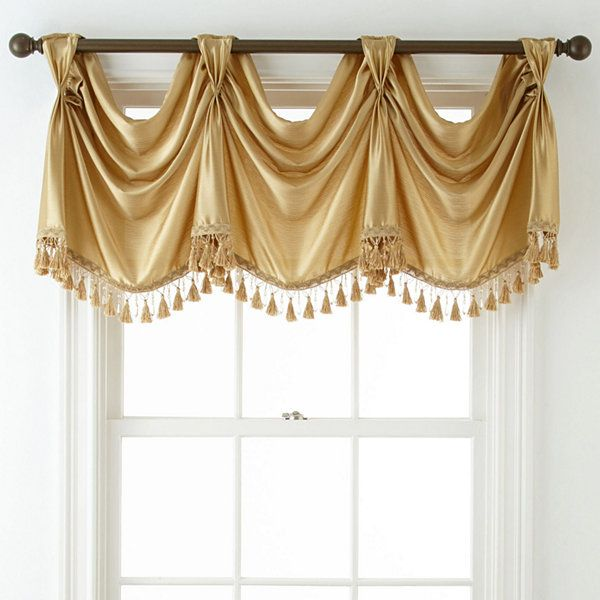 Royal Velvet 174 Hilton Rod Pocket Empire Valance Jcpenney