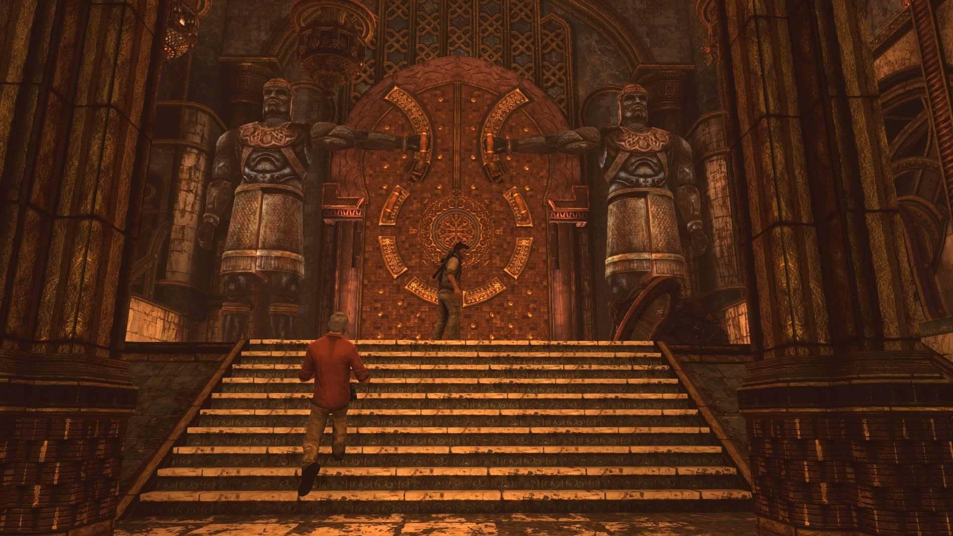 Uncharted 3 - Door to The Atla...