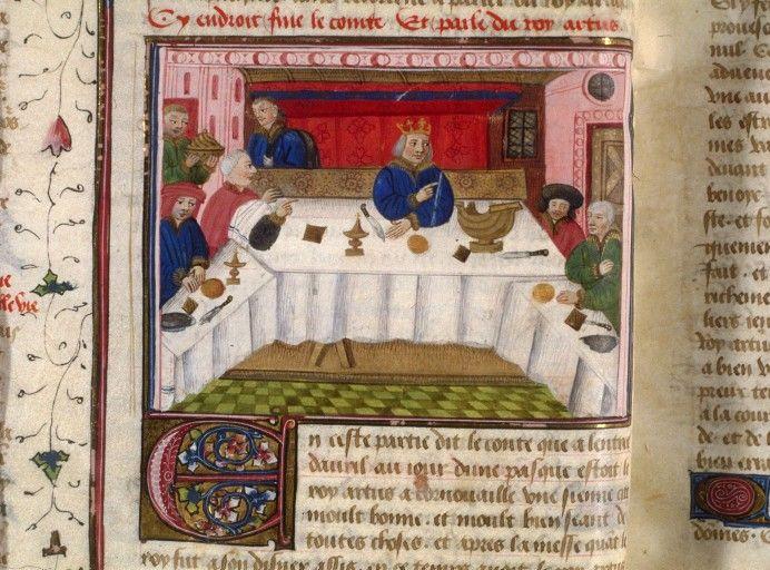Http Visualiseur Bnf Fr Consulterelementnum O Ifn 8100099 E Jpeg Deb 19 Fin 19 Param C Art De La Table Cuisine Medievale Medieval