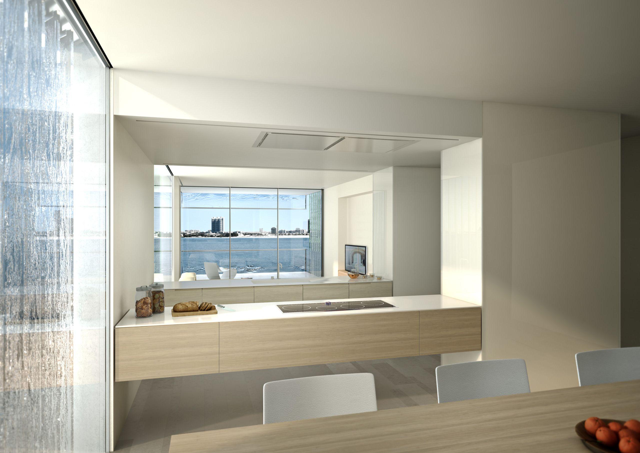 Introducing a new living concept with frameless sliding windows #MurabaDubai #Dubai